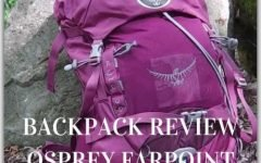 Review of Osprey Farpoint 40, my backpack