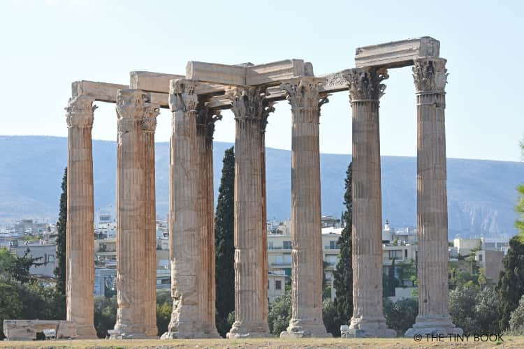 Temple of Olympian Zeus, Athens.