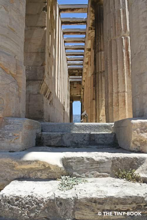 Inside the Ancient Agora Athens