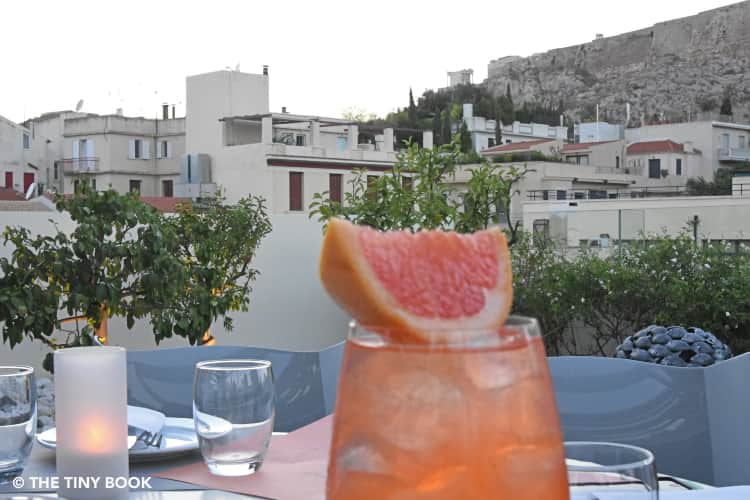 Rooftop Bar in Athens. Point A.