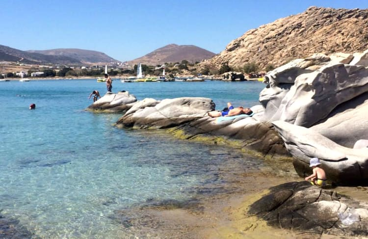 Kolymbithres beach what to do in Paros Greece