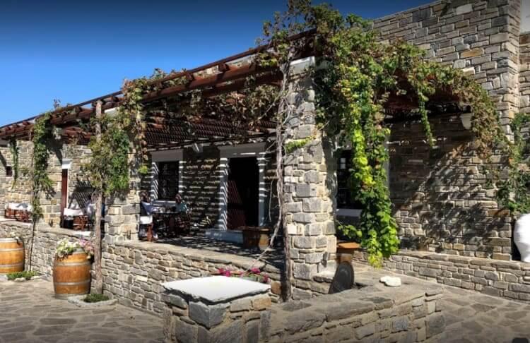 Paros, Moraitis Winery.