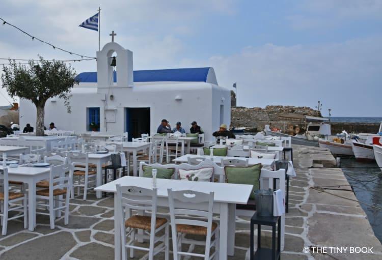The fishing port of Naoussa, Paros.
