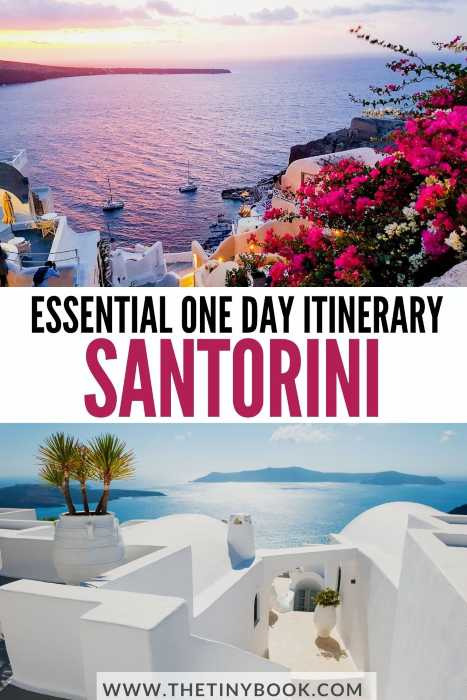 Essential things to do in Santorini in one day