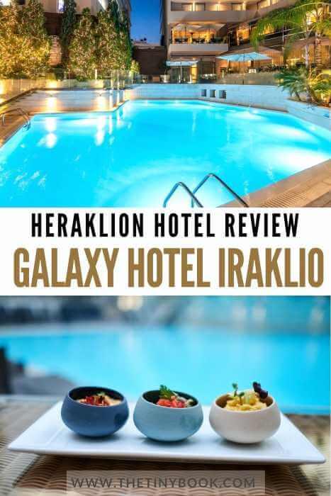 Review Galaxy Hotel Heraklion, Crete