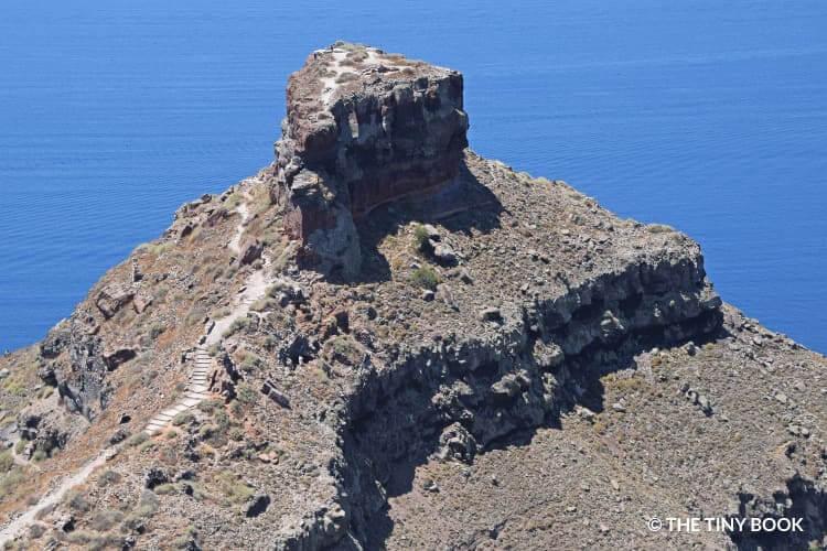 Skaros rock, Imerovigli, Santorini itinerary.