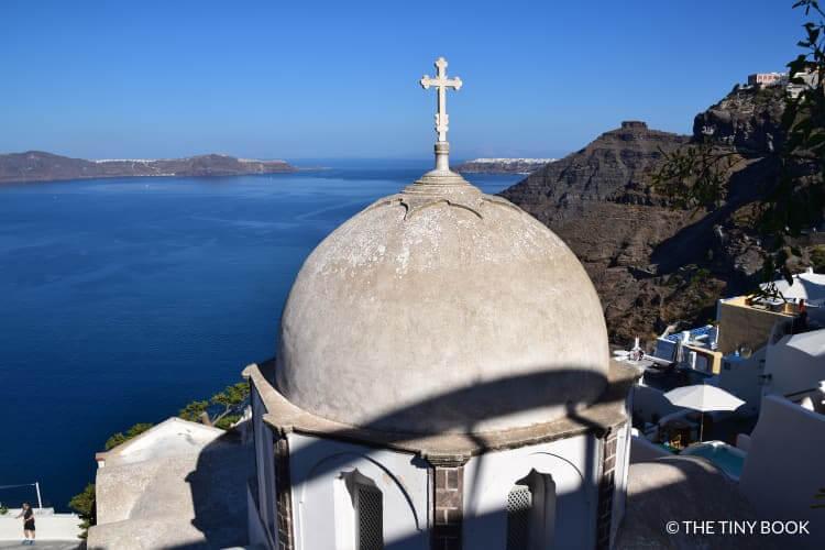 Church in Fira, Santorini.