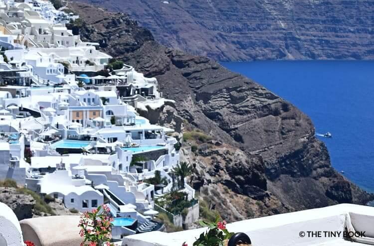 Infinity pools, Oia. Santorini island - Greece