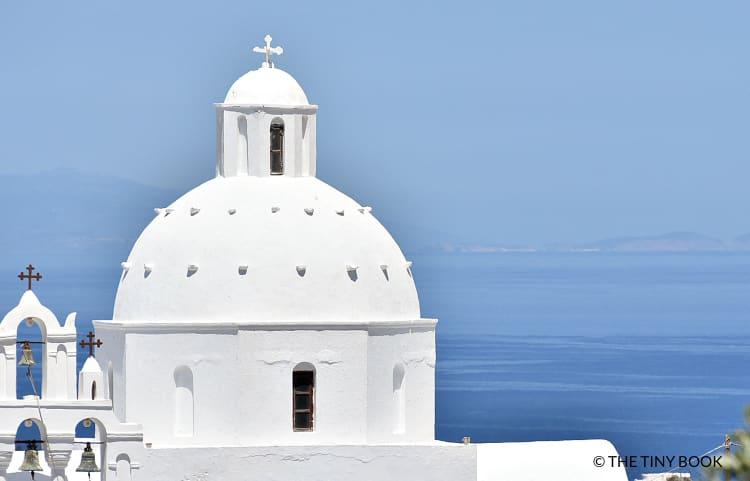 Church, Karterados. Santorini, Greece