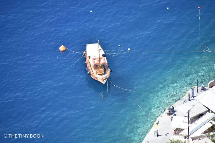 Port of Fira, Santorini.