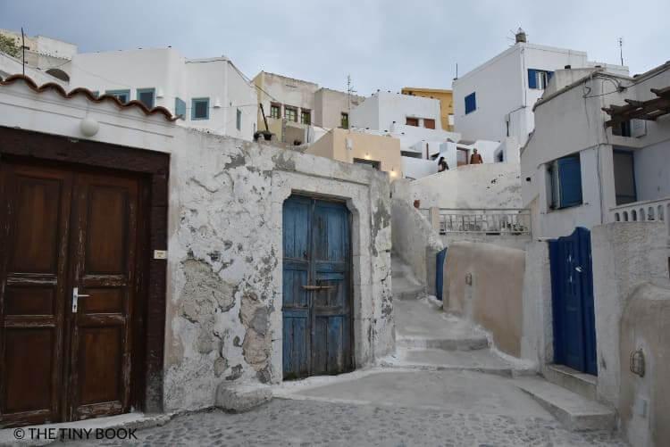 Pyrgos village, Santorini island