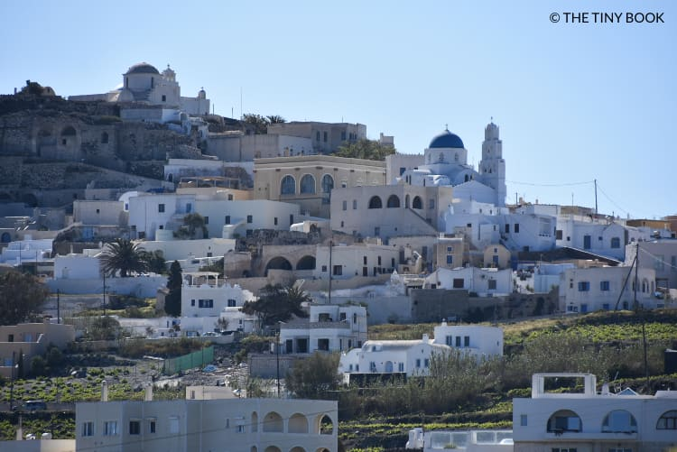 Pyrgos village, Santorini.