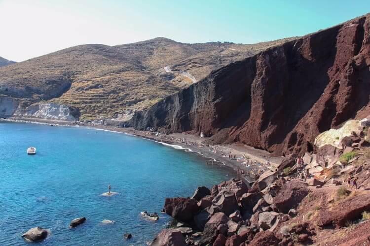 Red Beach and White Beach, Akrotiri