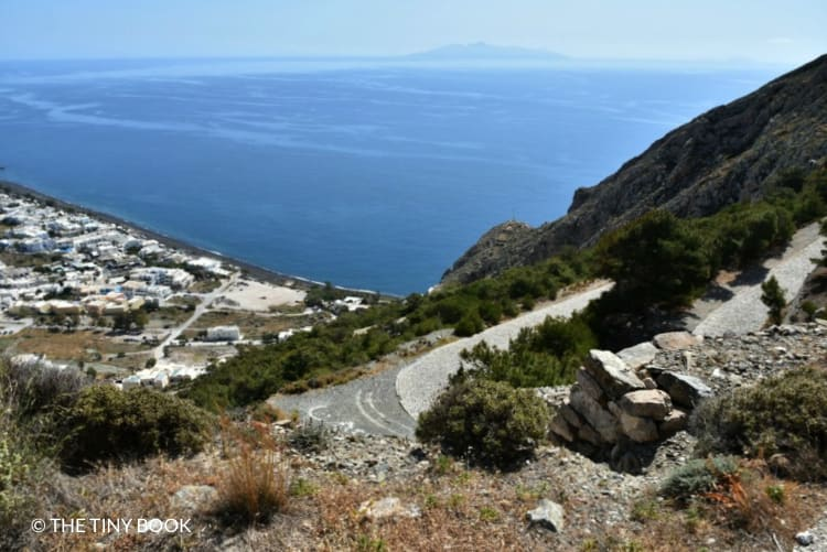 Road to Ancient Thira.
