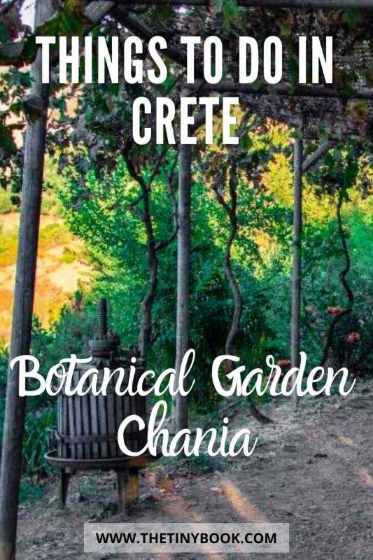 Discover Crete's Stunning Botanical Park & Gardens