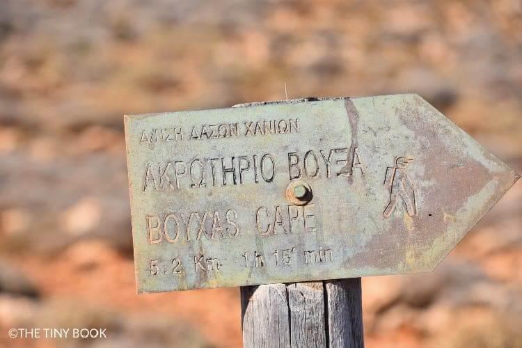 Cape Vouxa, Balos