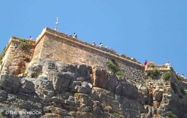 Imeri Gramvousa castle.