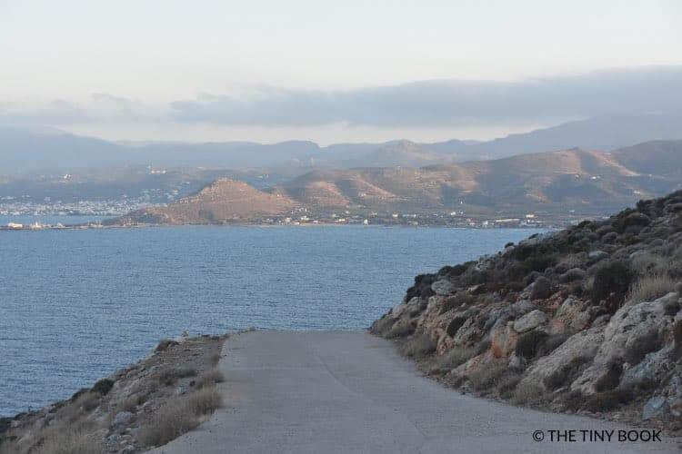 Road to Balos, Crete.