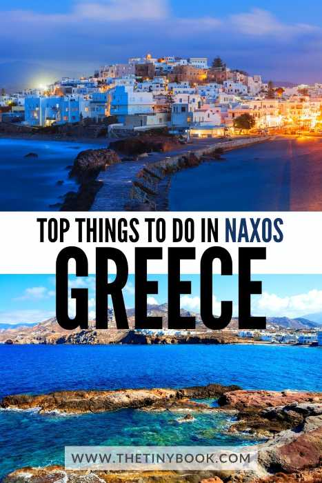 ONE DAY ITINERARY NAXOS ISLAND, GREECE