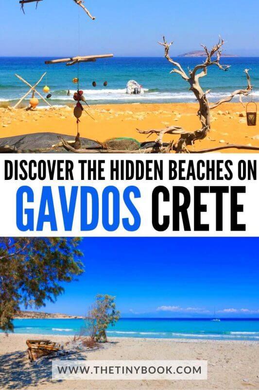 GAVDOS ISLAND, CRETE