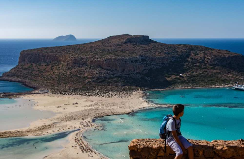 GREECE - CRETE - BALOS - KIDS HIKING