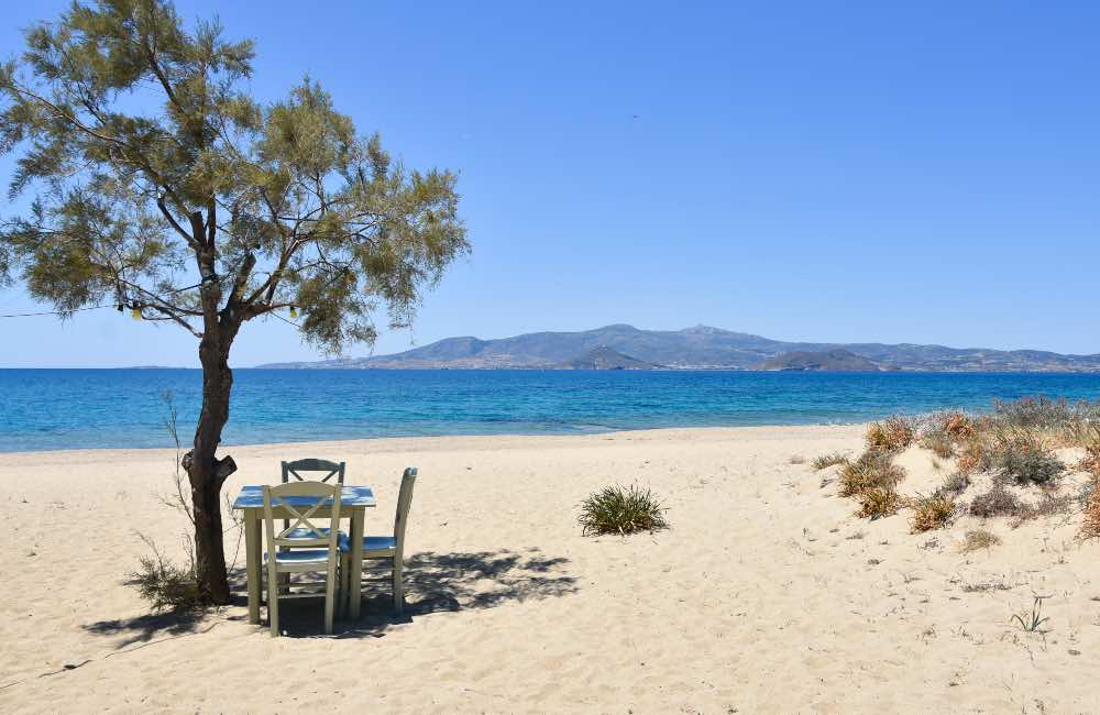 GREECE - NAXOS - BEACH