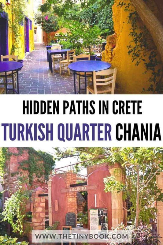 Hidden paths in Crete