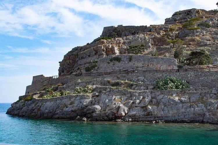 Spinalonga island, Crete.