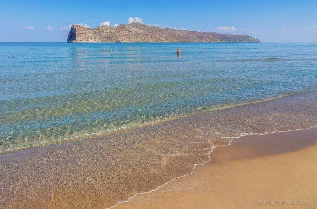 Agia Marina Beach, Crete