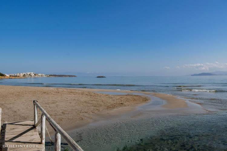 Almyros beach, Agios Nikolaos. Crete