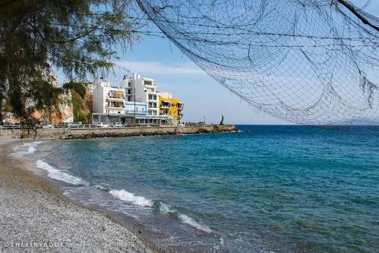 Kitroplateia beach Agios Nikolaos