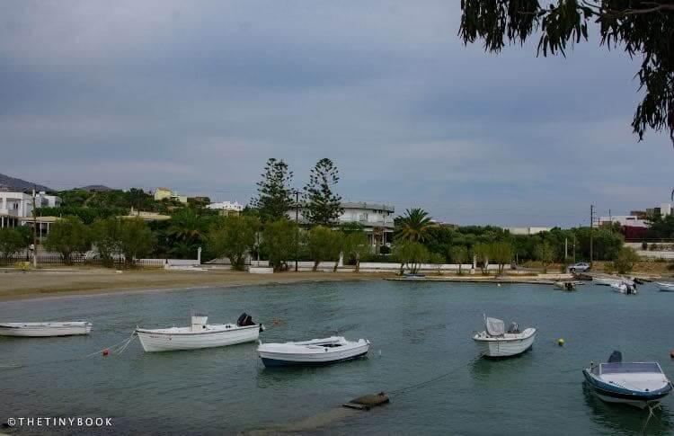 Ormos beach, Agios Nikolaos.