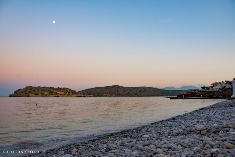 Plaka beach, Spinalonga, Lasithi, Crete.