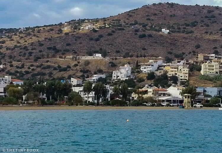 Beach Elounda.