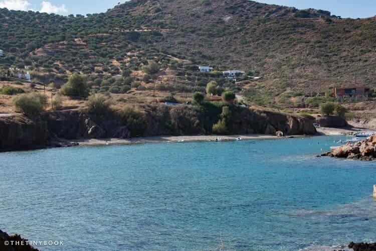 Port Mochlos, Lasithi, Crete.