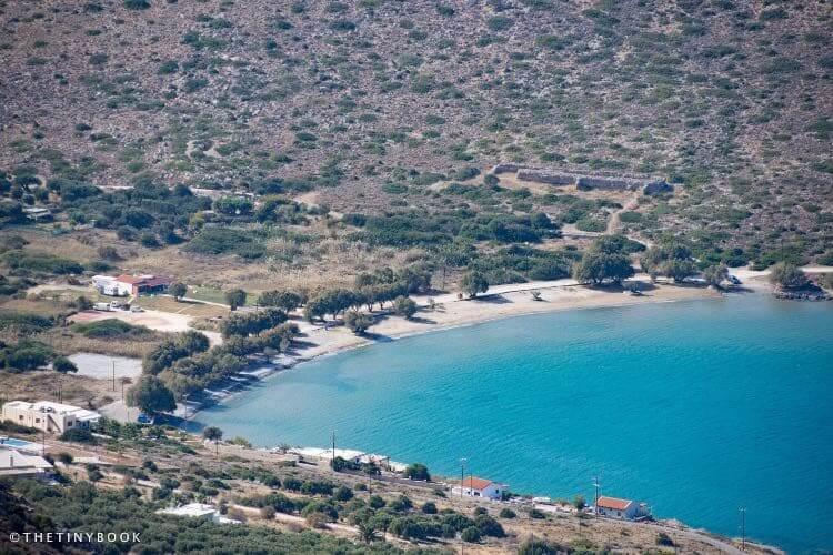 Tholos beach, East Crete