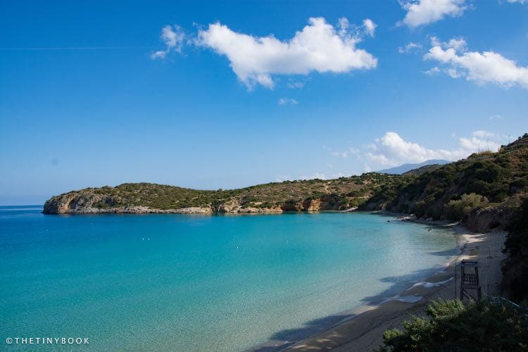 sea, sand, beach - Voulisma, also known as Golden Beach.