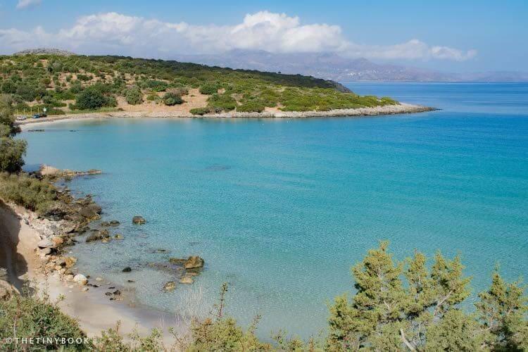 Voulisma, also known as Golden Beach. Crete.