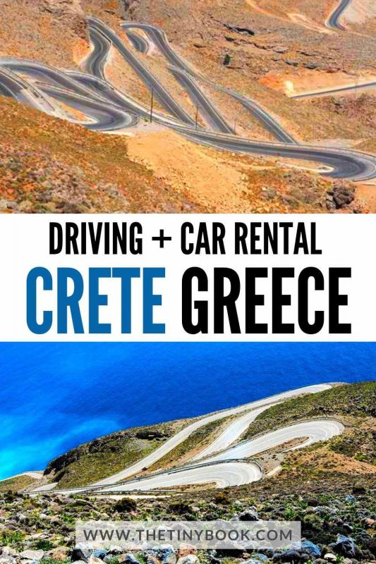 Tips for car rental and driving in Crete