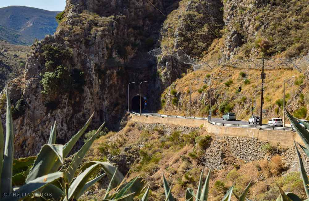 GREECE - CRETE - Elafonisi ROAD - Topolia