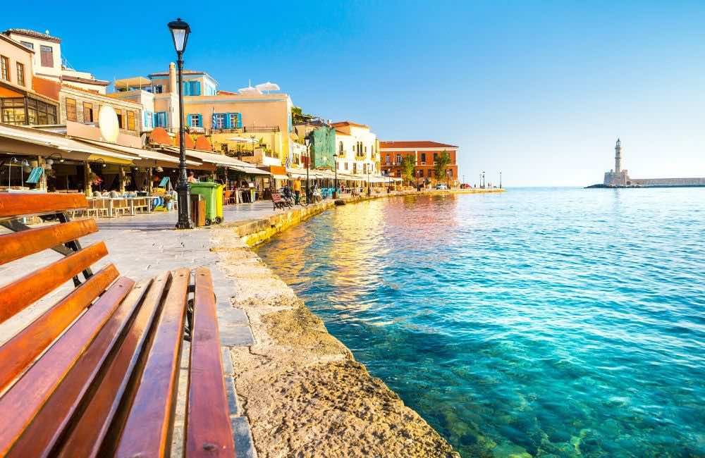 GREECE - CRETE -CHANIA PORT