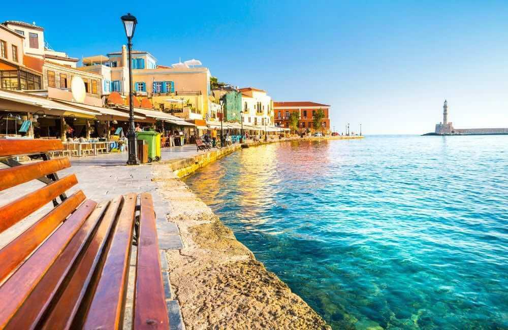 GREECE - CRETE -CHANIA PORT