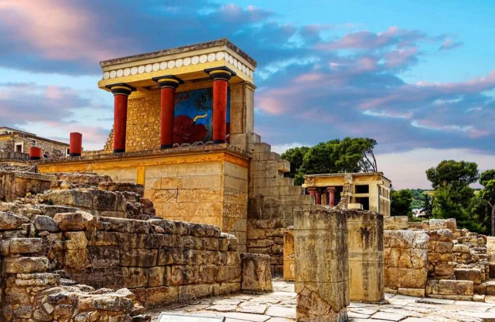 GREECE - CRETE - HERAKLION - KNOSSOS