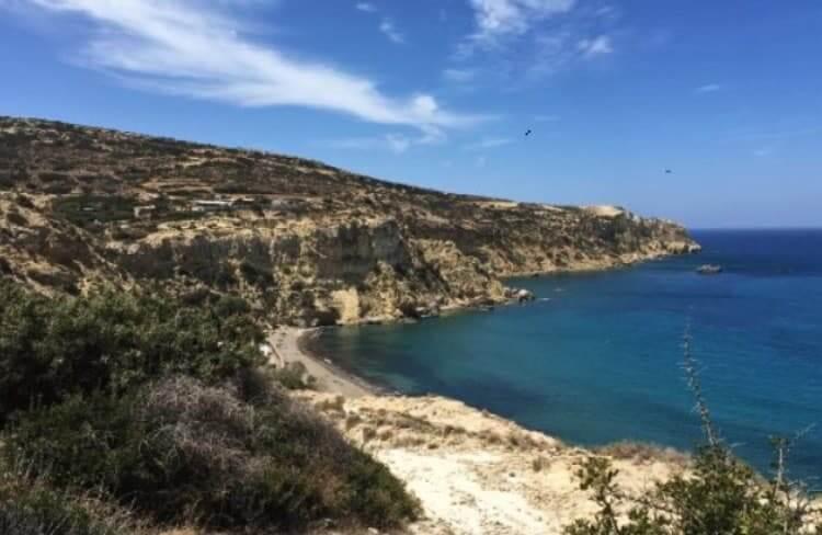 Kommos beach, Crete