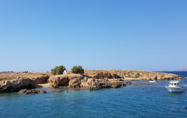 Lazareta islet, Chania (West Crete)