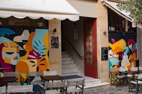 Peripou bar, Agios Nikolaos.