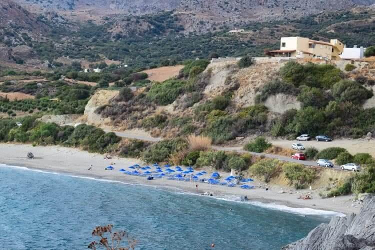 Plakias beach in south Rethymnon, Crete