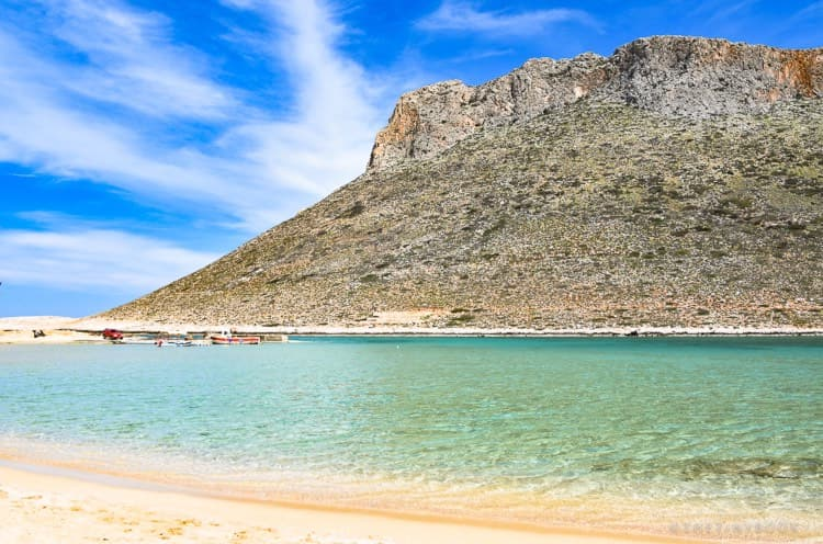 Stavros beach, Crete (Chania region)