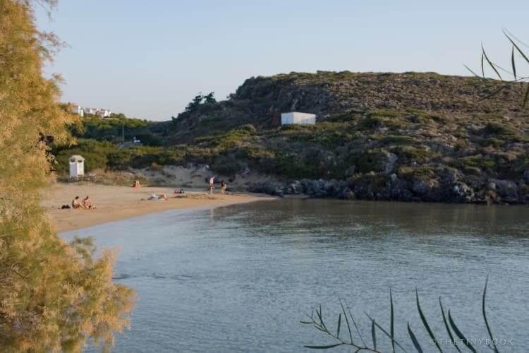 Tersanas Beach, Akrotiri peninsula, Crete