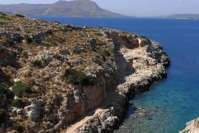 Vraskos beach Chania Crete